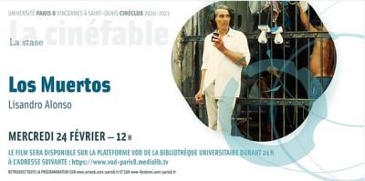 CINÉ-CLUB ! MERCREDI 24 FEVRIER 12h : LOS MUERTOS